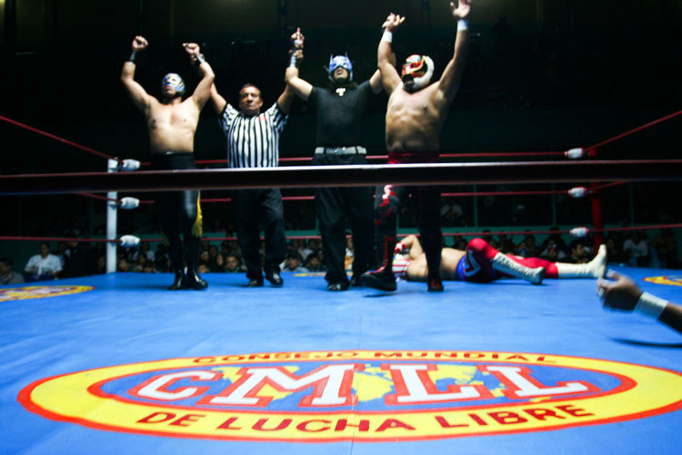 Luche Libre wrestling